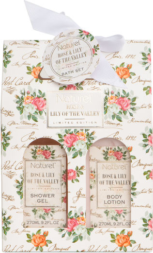 Naturel rose + lily lp 2 x 270 ml
