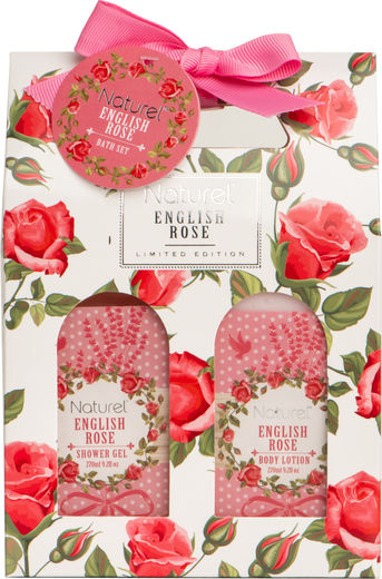 Naturel english rose lp 2 x 270 ml