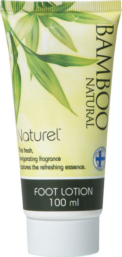 Naturel bamboo foot lotion 100ml
