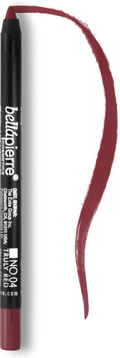 Bellapierre lip liner pencils truly red