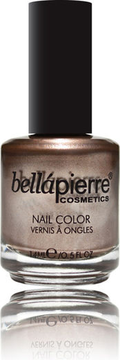 Bellapierre nail polish single copper brown