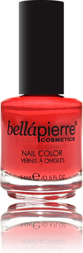 Bellapierre nail polish single coral peach