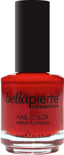 Bellapierre nail polish single fire red