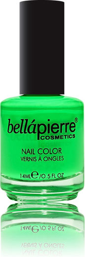 Bellapierre nail polish single neon green