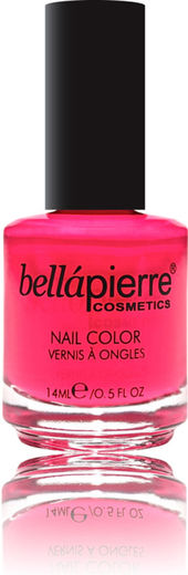 Bellapierre nail polish single neon pink