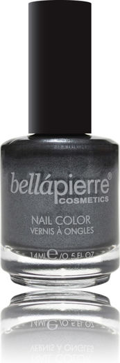 Bellapierre nail polish single english gray