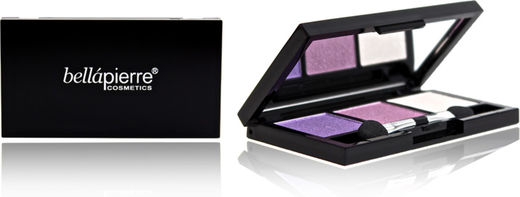Bellapierre 3 pressed eye shadow purple