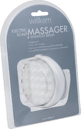 Willkem el scalp massager&shampoo brush