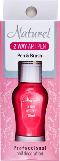 Naturel 2 way art pen ws5 pinkki