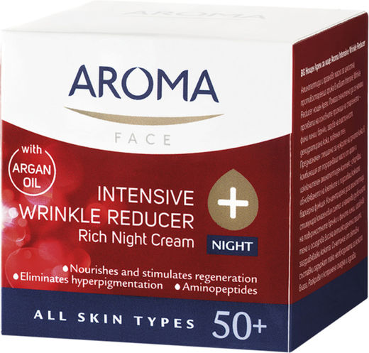 Aroma 50+intens wrinkle night cream 50 ml