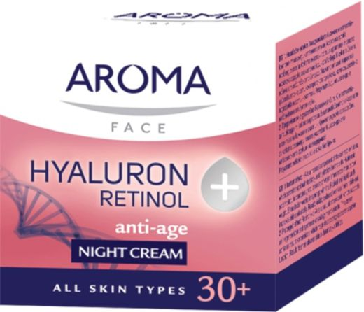 Aroma 30+hyaluron retinol night cream 50 ml