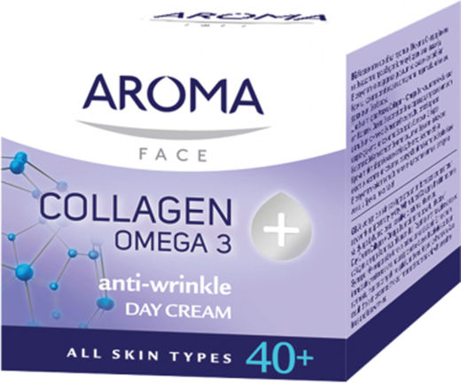 Aroma 40+collagen omega 3 day cream 50 ml