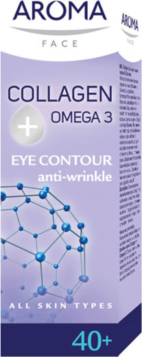 Aroma 40+collagen omega 3 eyecream 15 ml