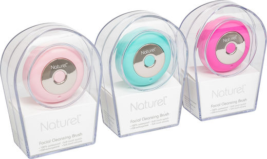 Naturel facial cleansing brush