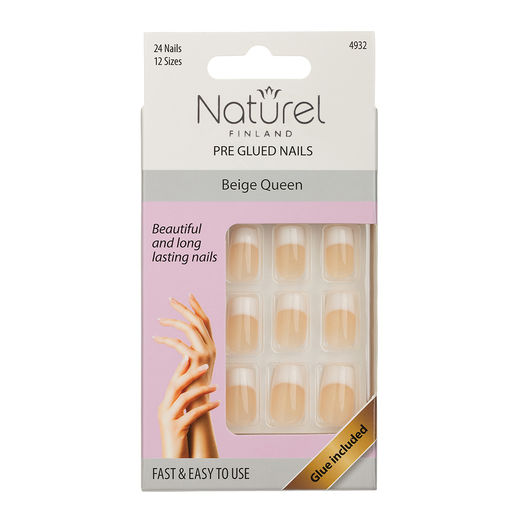 Naturel kynnet beige queen pre-glued