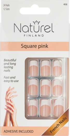 Naturel kynnet square pink