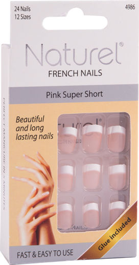 Naturel kynnet pink super short