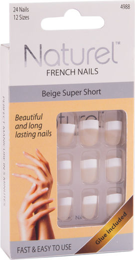 Naturel kynnet beige super short