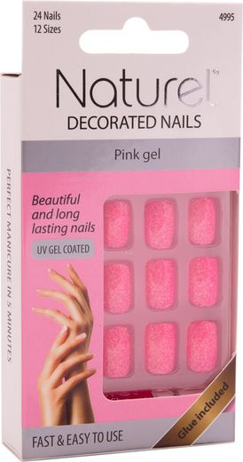 Naturel kynnet gel coat pink