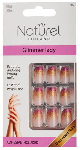 Naturel kynnet glimmer lady