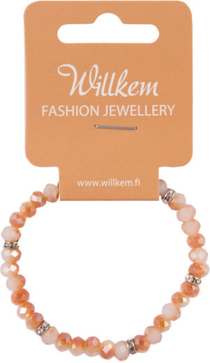 Willkem rannekoru / lasi peach