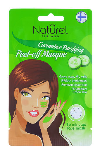 Naturel Finland kasvonaamio cucumber 15ml