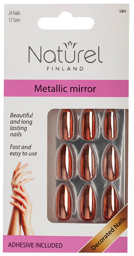 Naturel Finland irtokynnet  Metallic Mirror - 5004