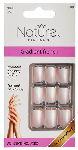 Naturel Finland irtokynnet  Gradient French - 5006