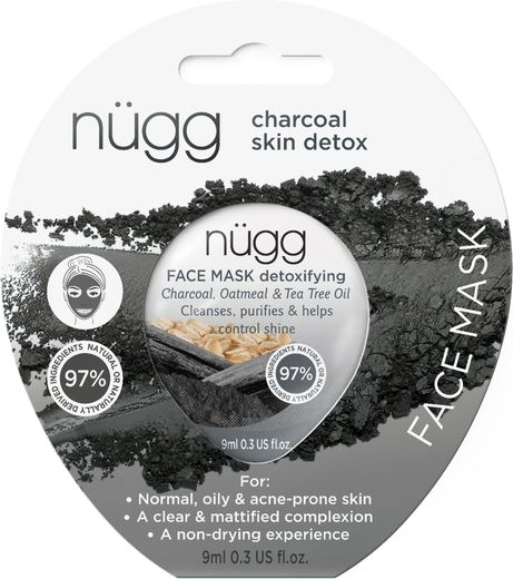 Nugg face mask charcoal 10 ml