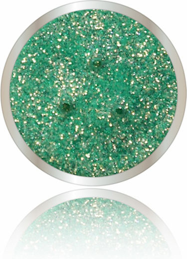 Bellapierre glitter powder shades greentastic