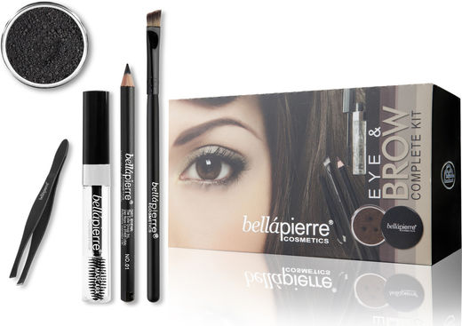 Bellapierre Eye & Brow Kit - Noir