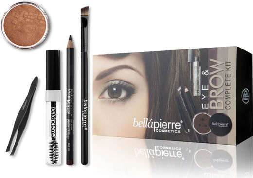 Bellapierre Eye & Brow Kit - Marrone
