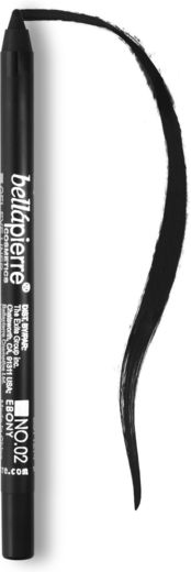 Bellapierre eye liner pencils ebony