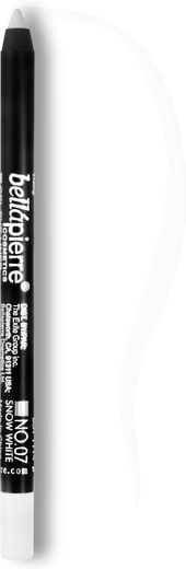 Bellapierre eye liner pencils snow white