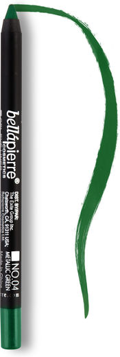 Bellapierre eye liner pencils metall green