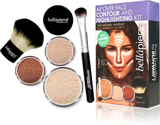 Bellapierre face highl&conto kit fair
