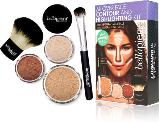 Bellapierre face highl&conto kit medium