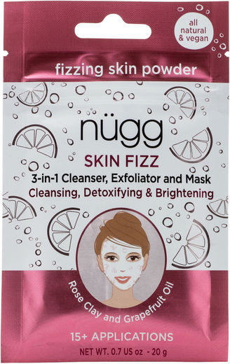Nugg rose clay skin fizz 20 g