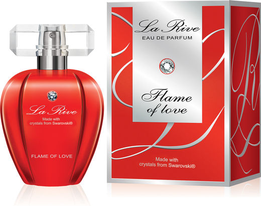 La Rive Swarovski Flame of Love EdP 75 ml
