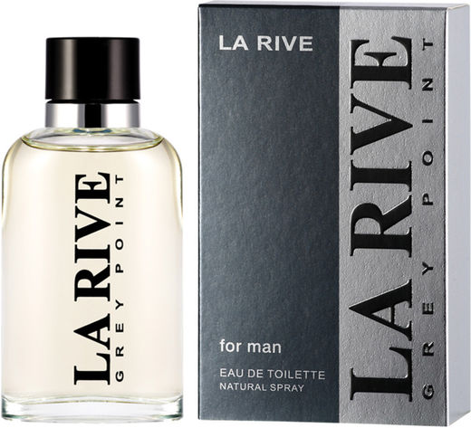 La rive grey point 90 ml edt miehille