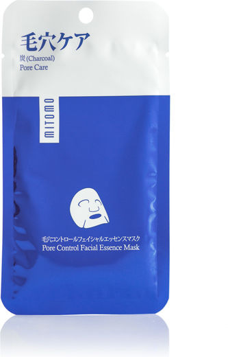 Mitomo Sheet Mask - Charcoal 25g