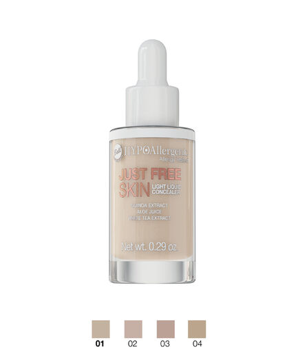 BELL HYPO JUST FREE SKIN LIGHT LIQUID CONCEALER 01