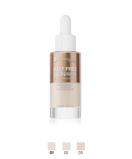 BELL HYPO JUST FREE SKIN LIGHT LIQUID FOUNDATION 0