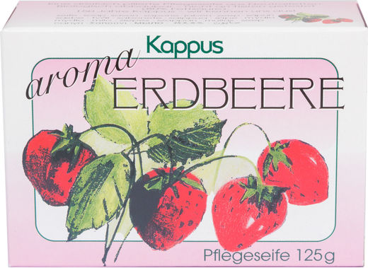 Kappus strawberry saippua 125g