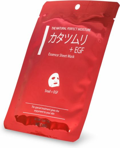 Mitomo Sheet Mask - Snail+EGF 25g