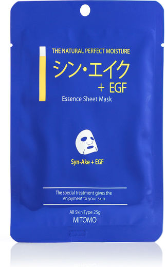 Mitomo Sheet Mask - Syn-Ake+EGF 25g