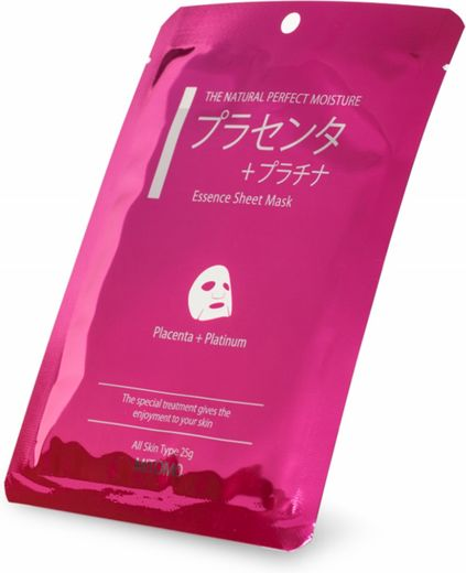Mitomo Sheet Mask - Placenta+Platinum 25g