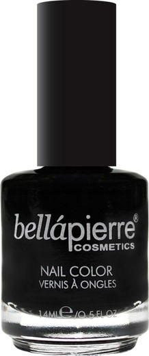Bellapierre nail polish single ebony