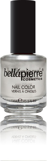 Bellapierre nail polish single pearl white