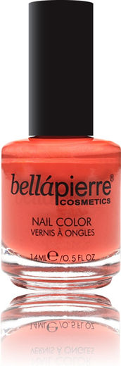Bellapierre nail polish single orange blossom